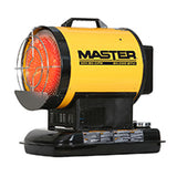 MASTER 80,000 BTU Silent Drive Oil Fired Heater