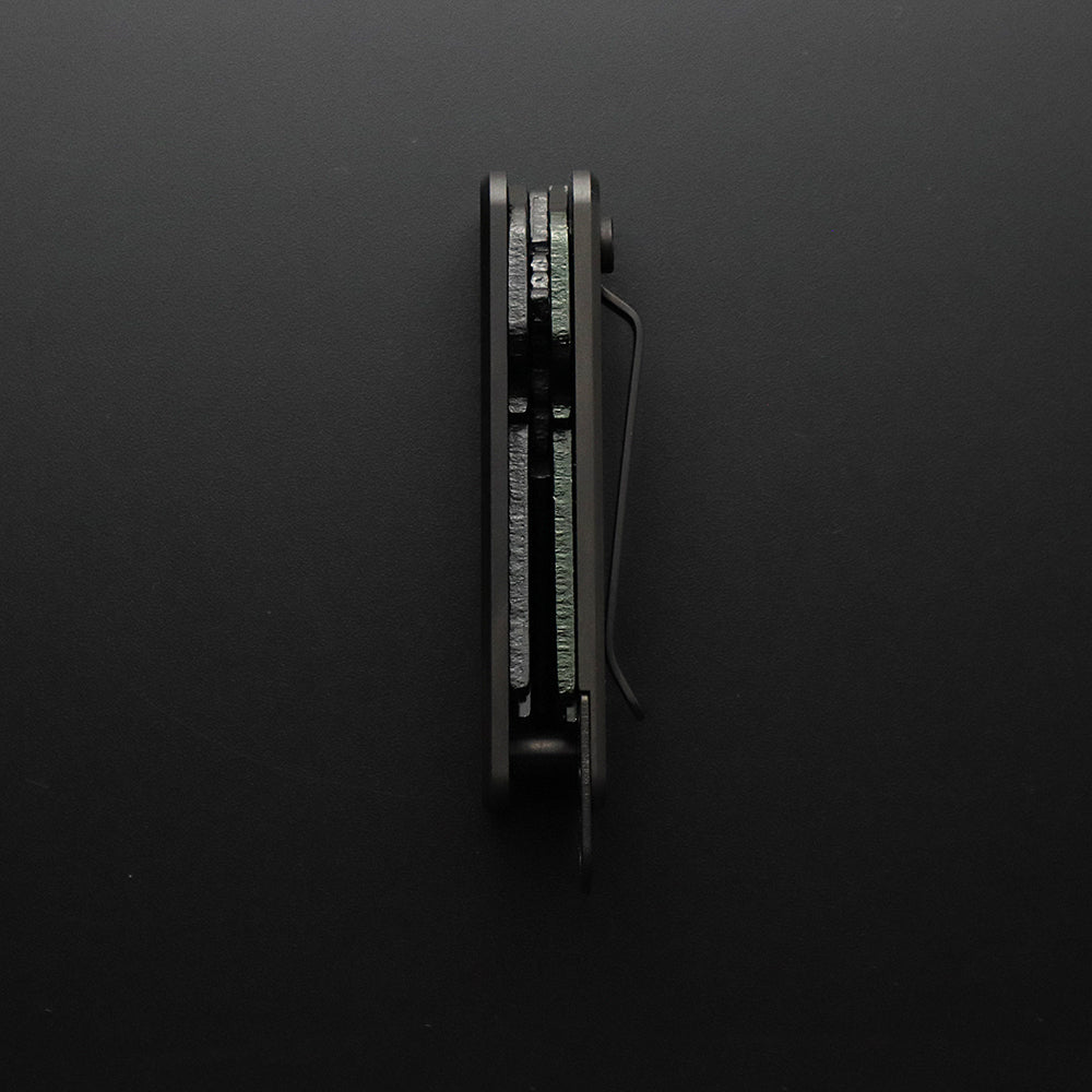 Shorty Only Key Organizer Black - Quiet Carry