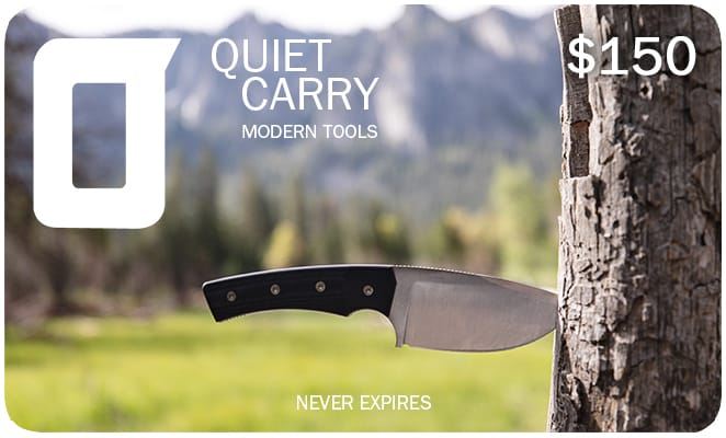 Quiet Carry Gift Cards