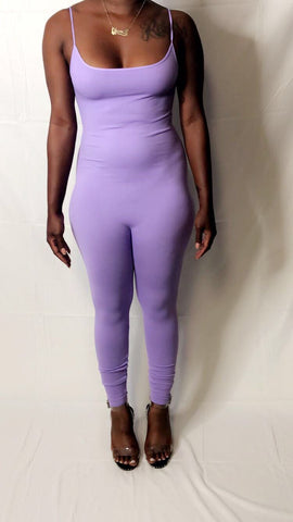 Nothing Basic Jumpsuit Lavender