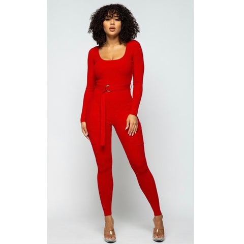 Holiday Gift Jumpsuit
