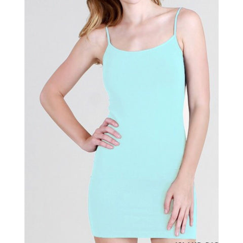 "Nothing Basic Dress ""Ocean Blue"""