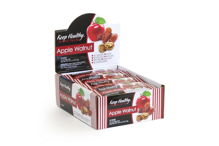 healthy snack original date bar apple and walnut