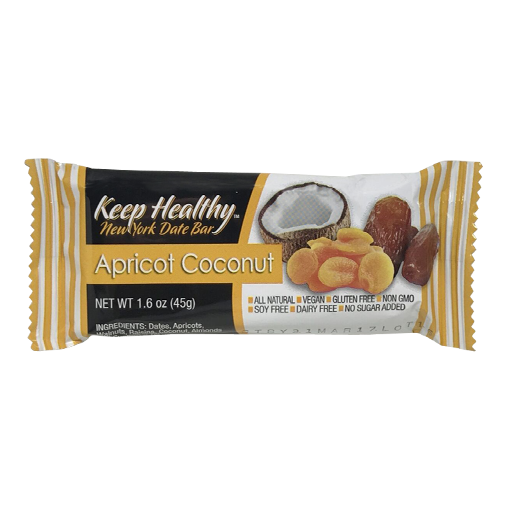 Keep Healthy Apricot Coconut Date Bar