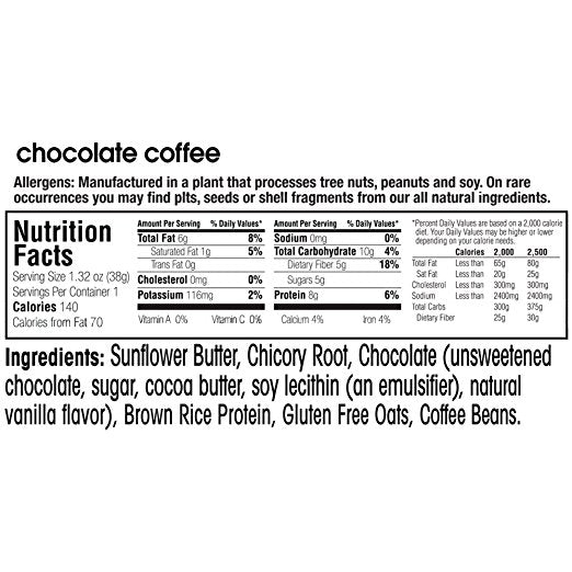 Vegan Snack Bar fruitkies Chocolate Coffee