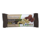 Keep Healthy Chocolate Covered Cashew Date Bar