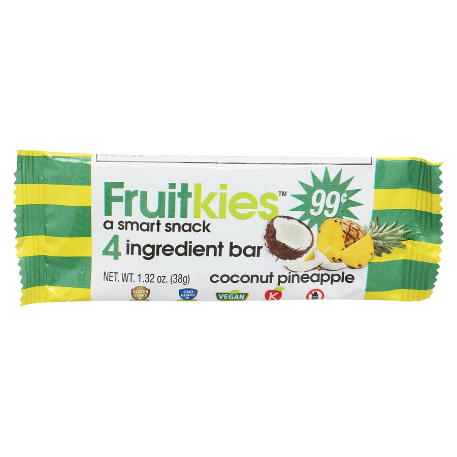 Fruitkies 99c. Coconut Pineapple Snack Bar