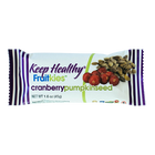 keep healthy fruitkies cranberry pumpkinseed snack bar