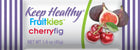 healthy snack bar fruitkies cherry fig