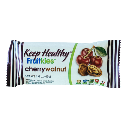 Keep Healthy Fruitkies Cherry Walnut Bar