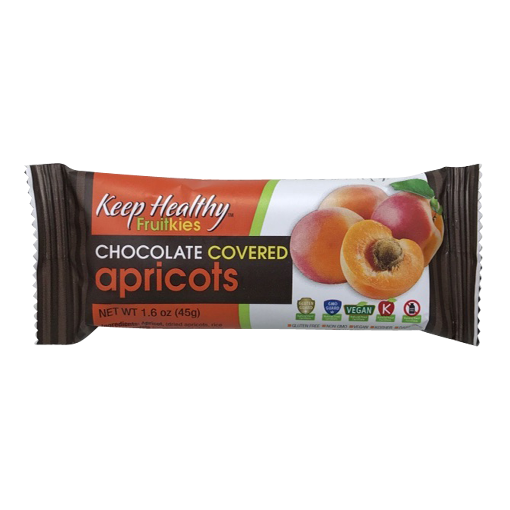 Keep Healthy Fruitkies Chocolate Covered Apricot Snack Bar