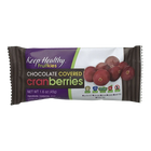 Keep Healthy Fruitkies Chocolate Covered Cranberries