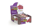 healthy snack bar fruitkies chocolate covered cranberries