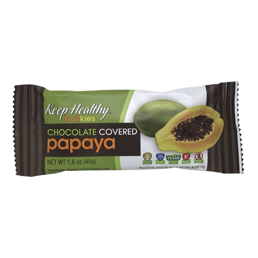 Keep Healthy Chocolate Covered Papaya Bar