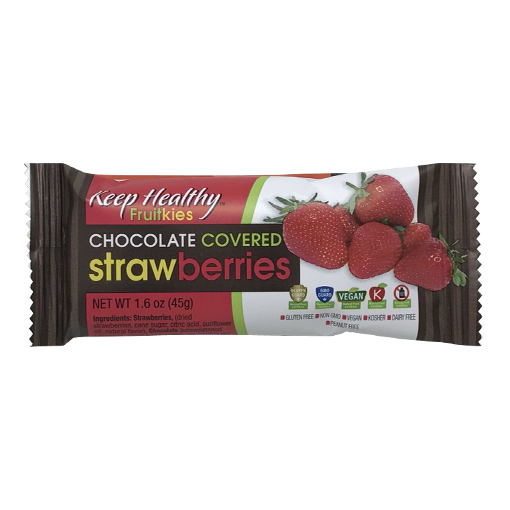 Keep Healthy Chocolate Covered Strawberries