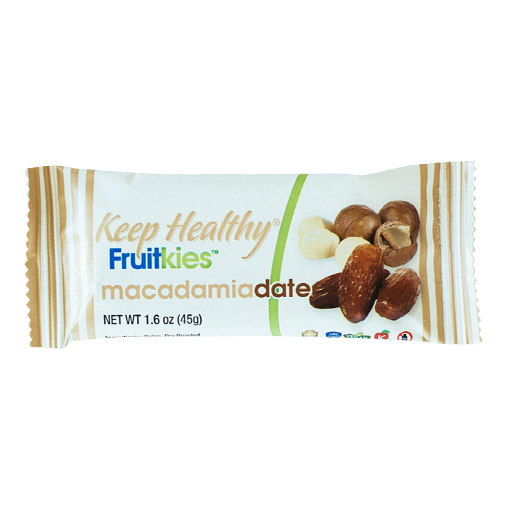 Keep Healthy Fruitkies Macadamia Date