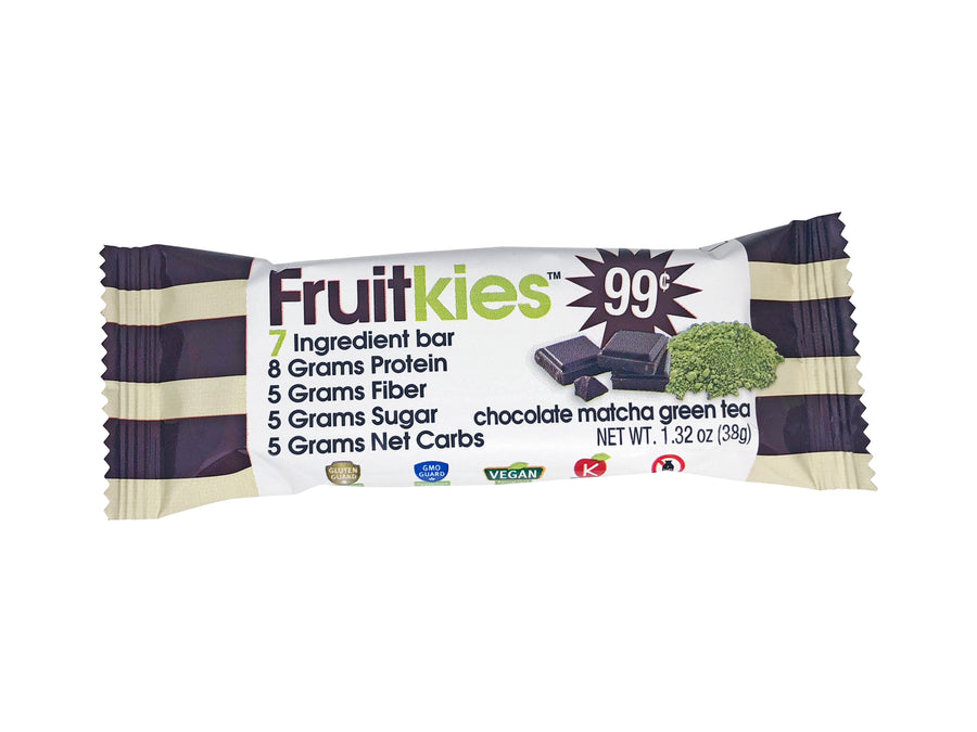 Fruitkies 99C Match Green Tea Bar