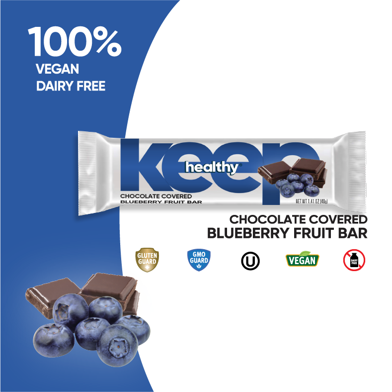 Chocolate Covered Blueberry Fruit 16 Bar Box