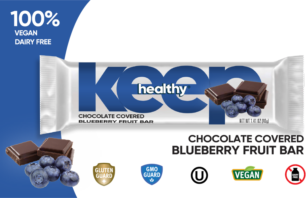 chocolate covered blueberry, chocolate covered blueberry, vegan chocolate, vegan chocolate bar, chocolate covered fruit and nuts, healthy snack bars, dried fruit and nuts, healthy snacks, snack bar multipack, blueberries covered in chocolate