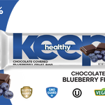 Keep Healthy Chocolate Covered Blueberry Fruit Bar
