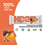 Chocolate Covered Mango Almond Fruit and Nut 16 Bar Box
