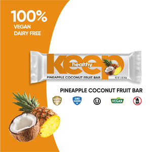 Pineapple Coconut Fruit and Nut Snack 16 Bar Box