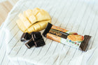 healthy snack bar fruitkies chocolate covered Mango