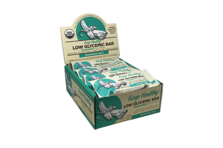 Keep Healthy Low Gylcemic Banana Nut 16 Bar Caddy