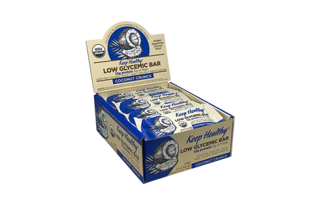 Keep Healthy  Low Glycemic Protein Coconut Crunch 16 Bar Caddy