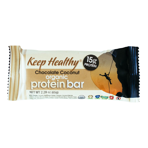 Keep Healthy Protein Chocolate Coconut Bar