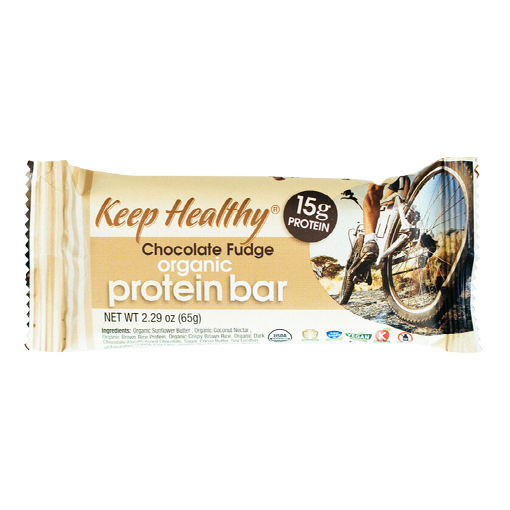 Keep Healthy Protein Chocolate Fudge Bar