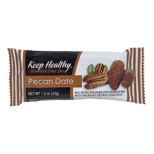 Keep Healthy Pecan Date Bar
