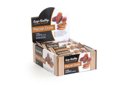 healthy snack original date bar pecan
