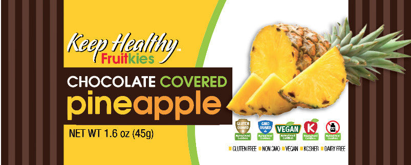 Fruitkies Chocolate Covered Pineapple Bar