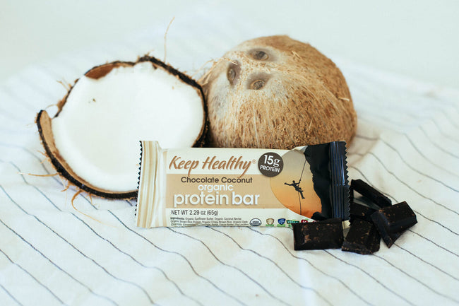 15 gram organic protein bar chocolate coconut