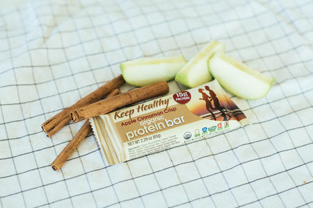 15 gram organic protein bar apple cinnamon