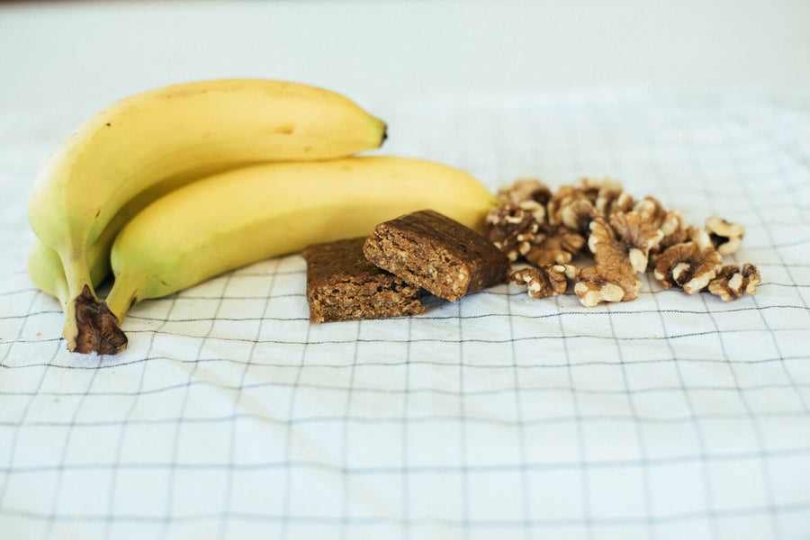 Low Glycemic Protein Bar no sugar alcohols banana nut