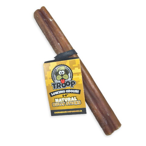 "5-6"" Bully Stick Low2No Odour"