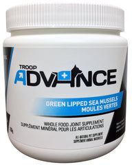 Troop Advance Best Natural Supplements for Dogs Green Lipped Mussel 160g Jar
