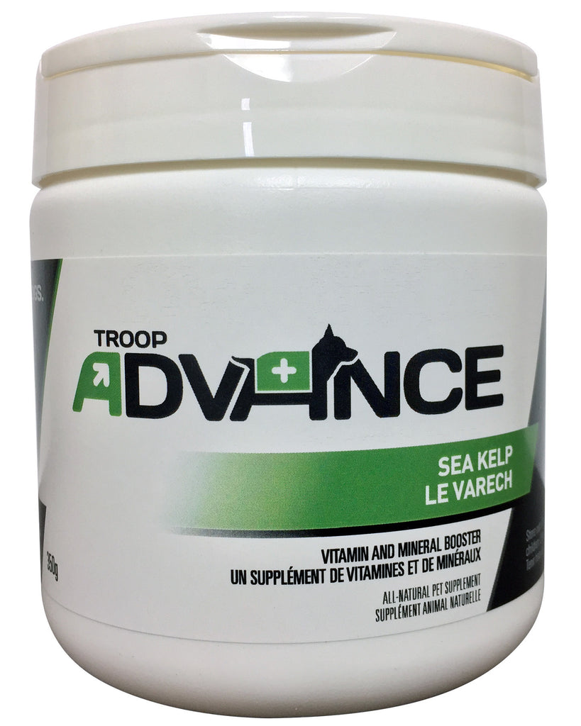 Troop Advance™ Best Natural Supplements for Dogs Sea Kelp 350g Jar