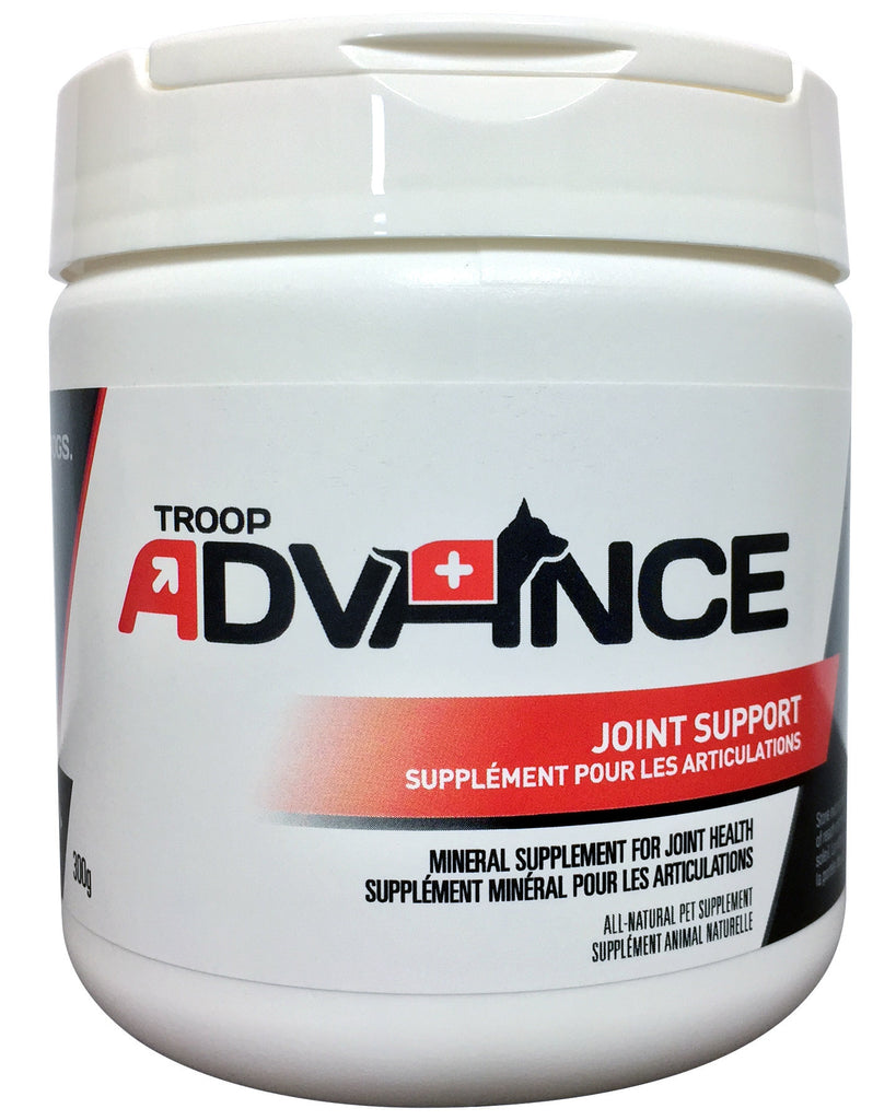 Troop Advance™ Best Natural Supplements for Dogs Joint Support 300g Jar
