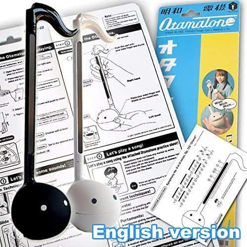 Otamatone Musical Toy (Original Colors - Black) from Maywa Denki - Hamee US