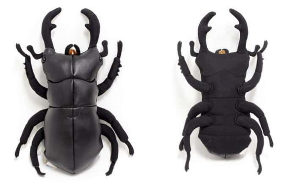 Insects (Giant Stag Beetle) - Stuffed Animal Plush Toy - Hamee US