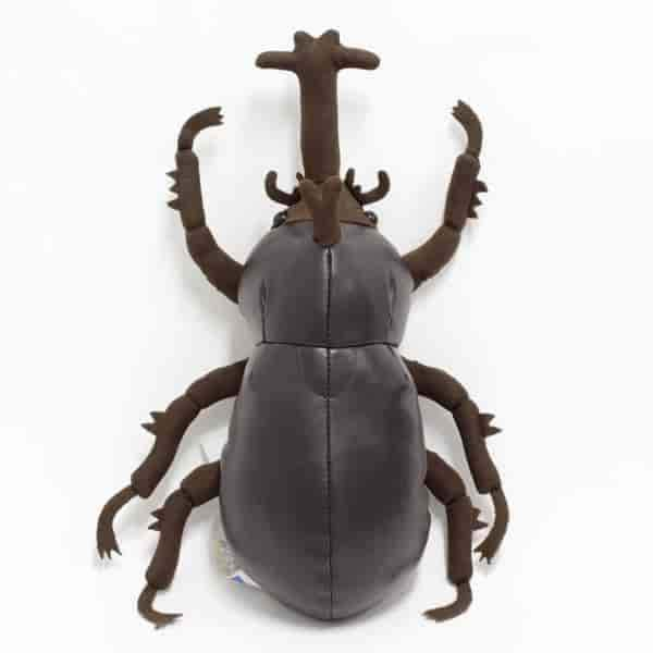 Rhinoceros Beetle Insect Stuffed Plush Toy - Hamee US