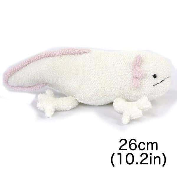 Axolotl Mexican Salamander Realistic Stuffed Animal Plush Toy - Hamee US