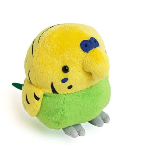 Munyu Mom Soft Fluffy Bird (Budgerigar / M size) - Stuffed Animal Plush Toy - Hamee US