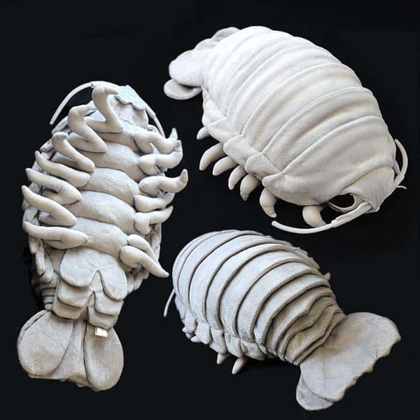 Deep Sea Creature Giant Isopod Realistic Plush Doll