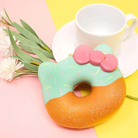 Sanrio Hello Kitty Cute Mint Donut Squishy [variant.title] - Hamee.com