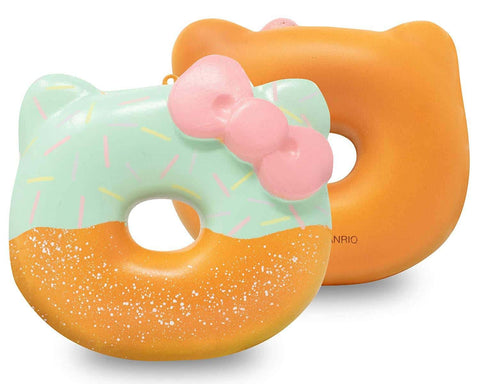 Sanrio Hello Kitty Big Donut Cute Squishy Ball Chain (Mint) - Hamee.com