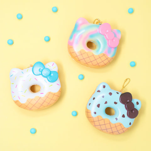 Sanrio Hello Kitty Cute Ice Cream Donut Squishy [variant.title] - Hamee.com